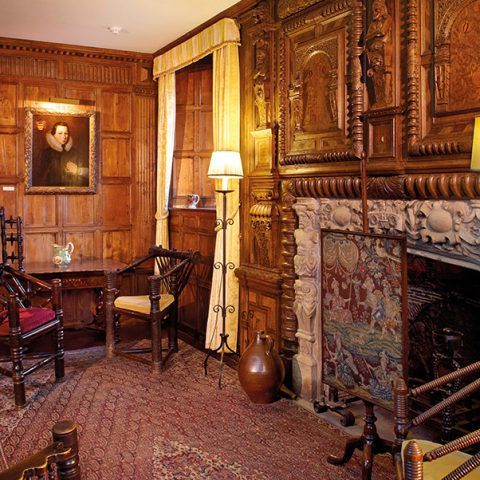 17th And 18th Century In 1644 The Fireplace Was Installed In The