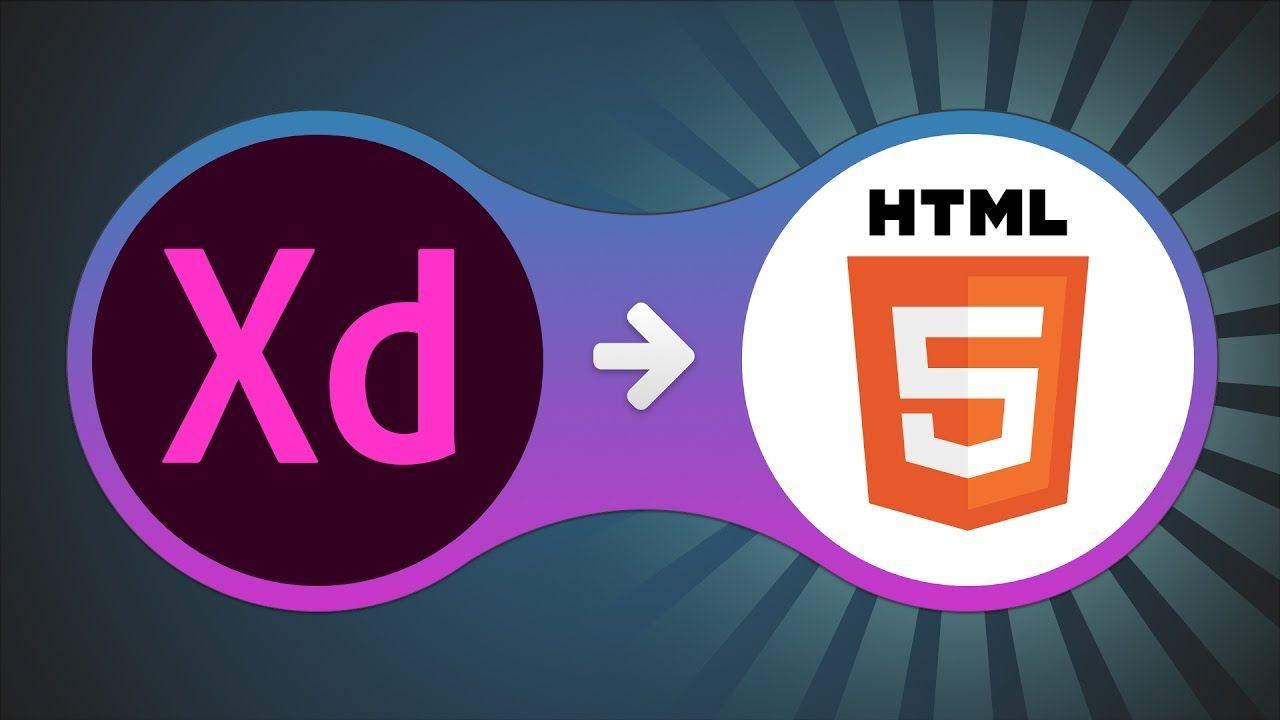 How To Convert Adobe Xd Design To Html Diseno Web Disenos De Unas
