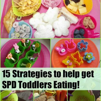 15 Strategies to encourage SPD toddlers to eat!