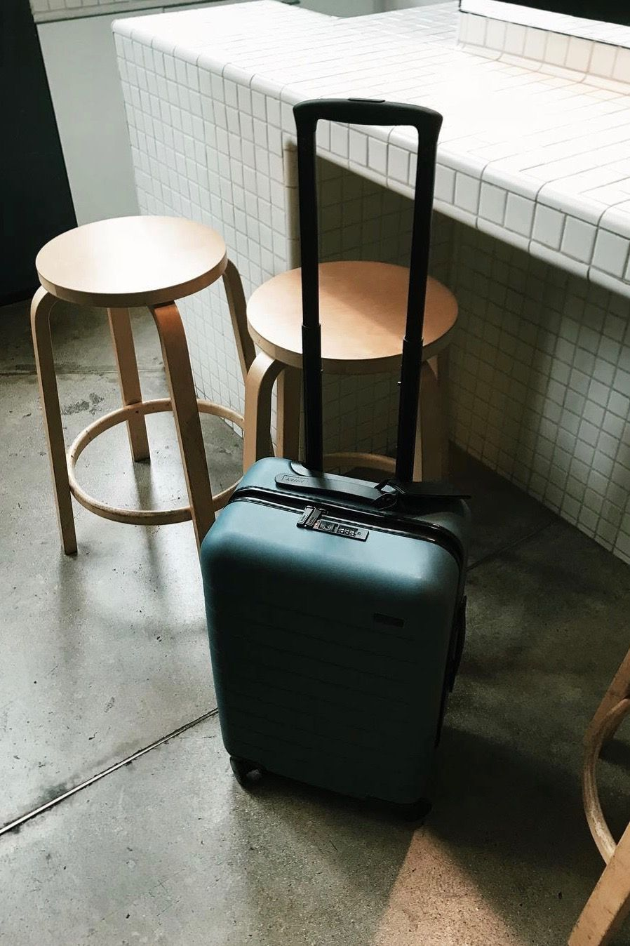 ee810acda79e A suitcase guaranteed to make holiday travel a breeze. Shop The Carry-On in  Green. 📷   nataliaswarz