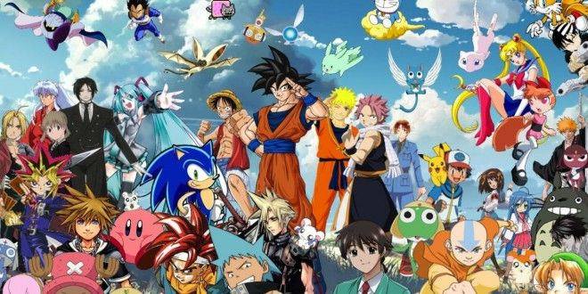 March 3 Anime Characters : All anime characters wallpaper together wallpapers hd