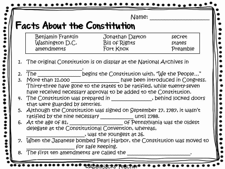 Constitution Worksheet For Kindergarten In 2020 Social Studies Worksheets Kindergarten Worksheets Constitution Activities