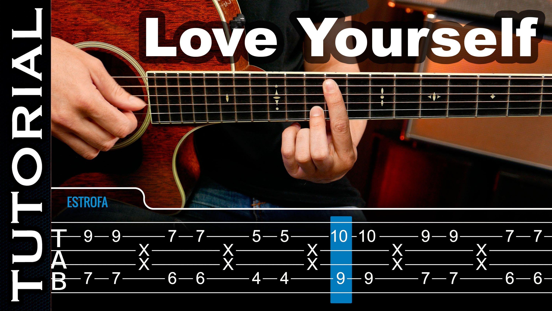 Love Yourself De Ed Sheeran Ft Justin Bieber Lesson Tutorial Guitar