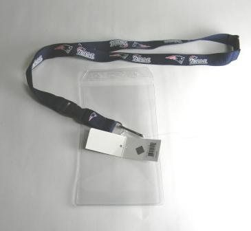 New England Patriots Lanyard and Plastic Ticket Holder by aminco. $5.99