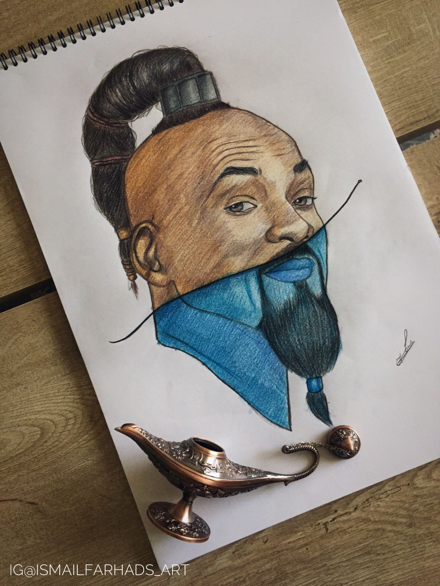 Will Smith Belle drawing, Art, Drawings