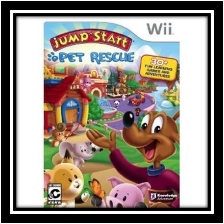 Game Review Giveaway Jump Start Pet Rescue Fun Games For Kids