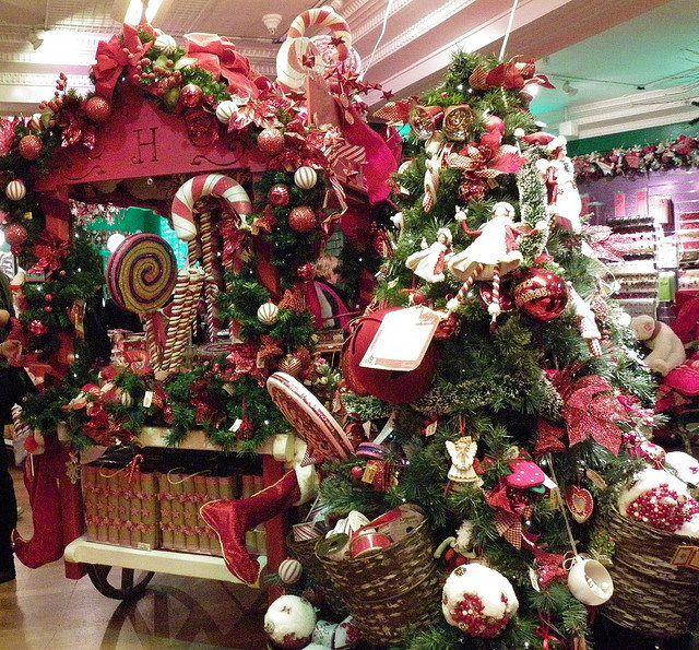 Addobbi Natalizi Harrods.Natale Ad Harrods Natale