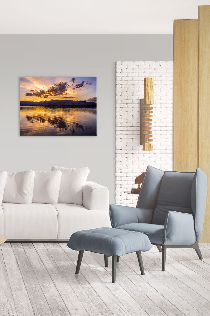 Reservoir Reflection | Product tags, Metal walls and Room decor