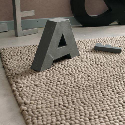Tapis Industry Beige 200x300 Maisons Du Monde Floor