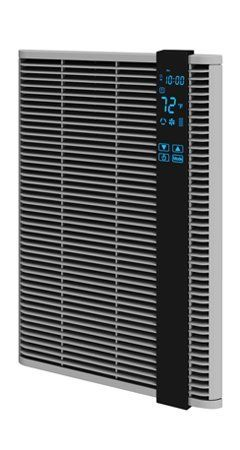 Q Mark Ht1502ss 120v Digital Programmable Wall Heater With Led Touch Screen By Q Mark 279 95 1500 Watt Heater Offer Forced Air Heater Heater Heating Systems