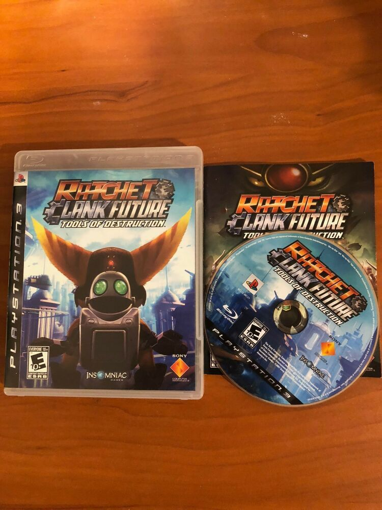 Ratchet Clank Future Tools Of Destruction Sony Playstation 3
