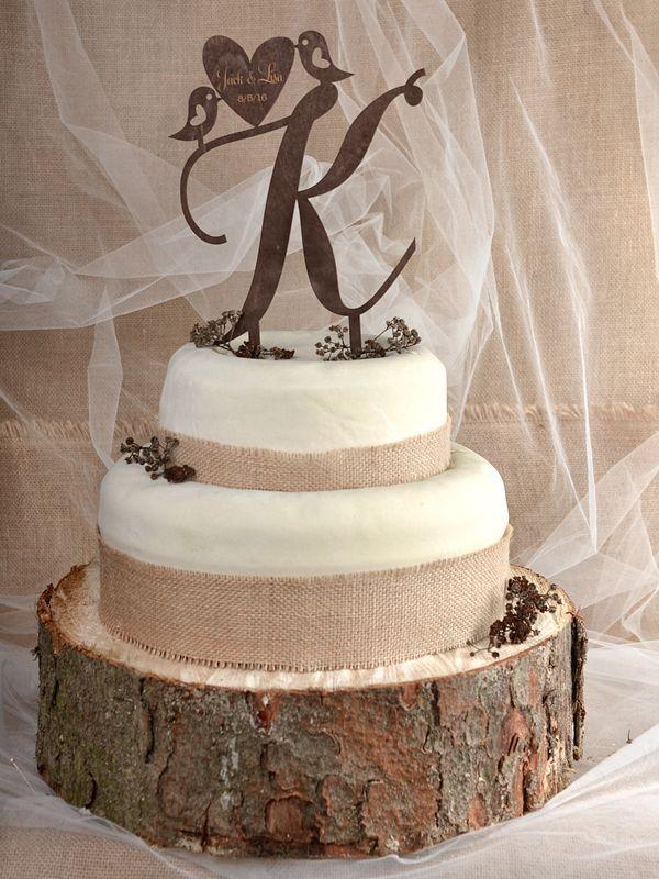 cake topper rustic 01/rusc/ct