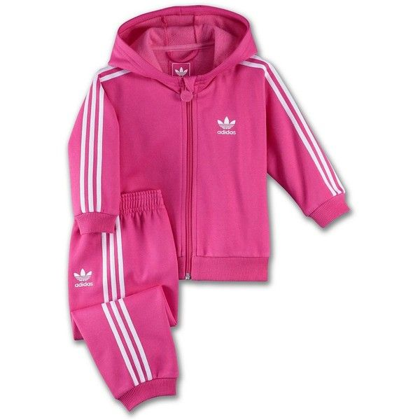 Infants & Toddlers Hooded Flock Track Suit ($32) ❤ liked on
