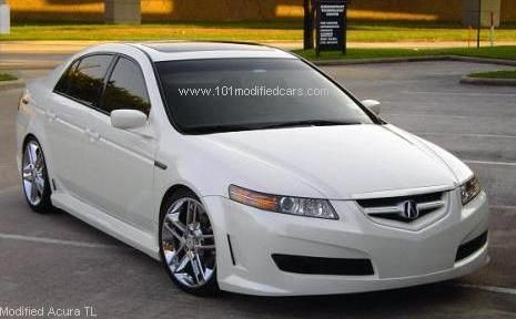acura tlx 2008 white. modified acura tl third generation with ronjon body kit and ron jon inspyre 19 inch tlx 2008 white