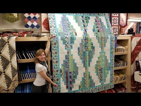 Bargello Table Runner | Quick and Easy Method in a Step by Step ... : youtube quilting tutorial - Adamdwight.com