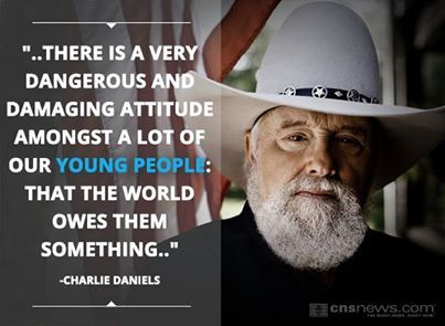 Charlie Daniels quote: The news is not about news anymore ... |Charlie Daniels Quotes