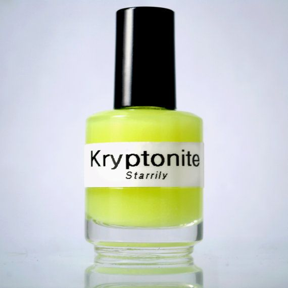 Kryptonite Indie Nail Polish Full Bottle by Starrily on Etsy, $10.00 ...