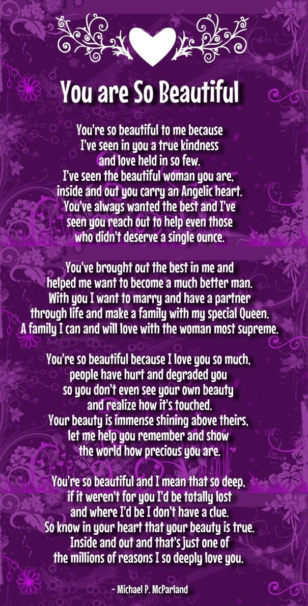 Poem for you are her amazing 50 You