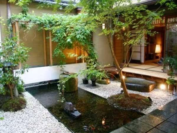 Comment aménager un jardin zen ? Backyard and Gardens - terrasse bois avec bassin