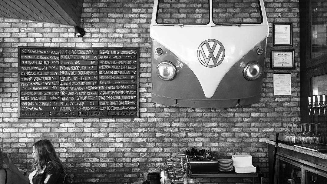 bus front wall art Garage Pinterest
