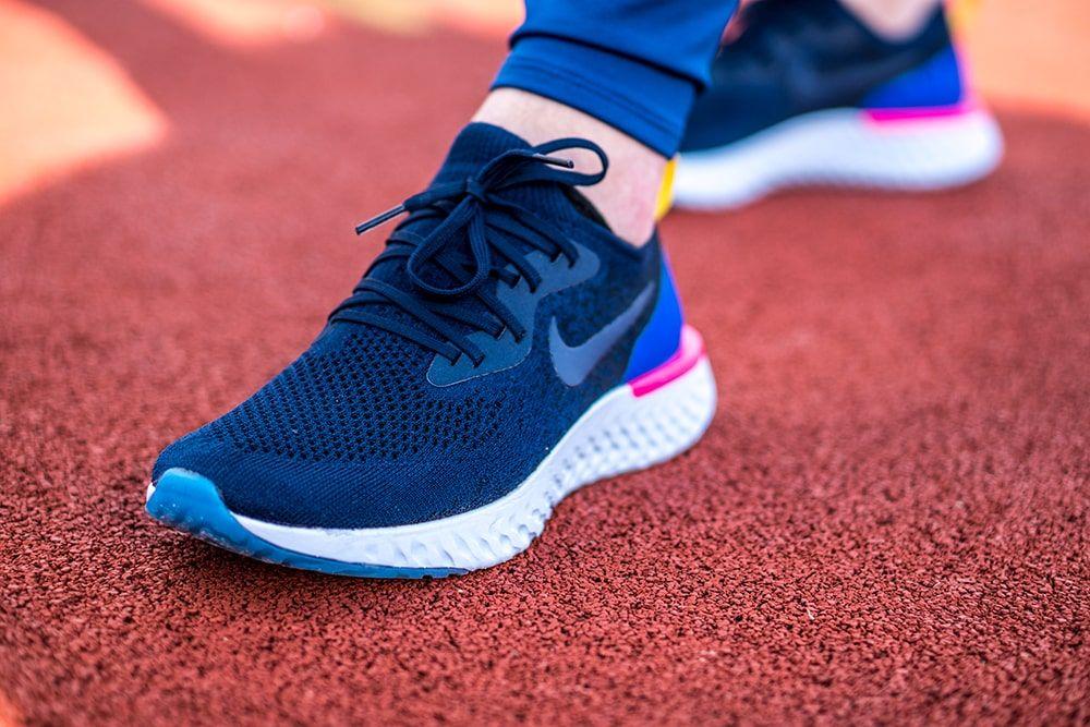 Latest Pickup Nike Epic React Flyknit Nike Air Schuhe Turnschuhe Damen Sneaker