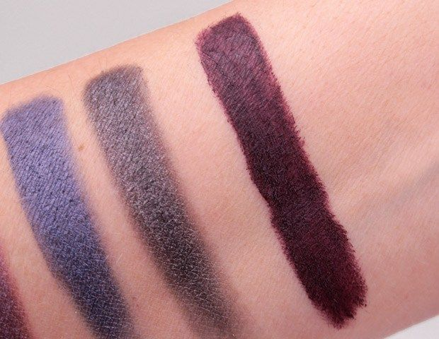 e.l.f. Velvet Matte Lipstick in Vampy Violet--review and swatches at ...