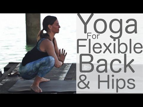 yoga for flexibility upper back and hips with lesley