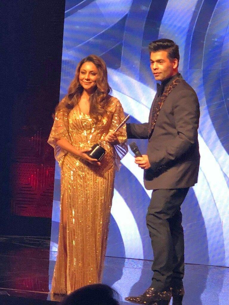 Image result for karan johar and Gauri