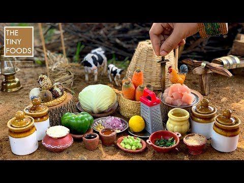 Chicken Fried Rice – Restaurant Style || கோழி வறுத்த சாதம் || Indian Street Food || The Tiny Foods