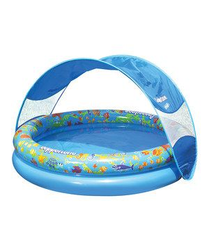 Another great find on #zulily! Coppertone 39'' Tot Sunshade Pool by Aqua Leisure #zulilyfinds