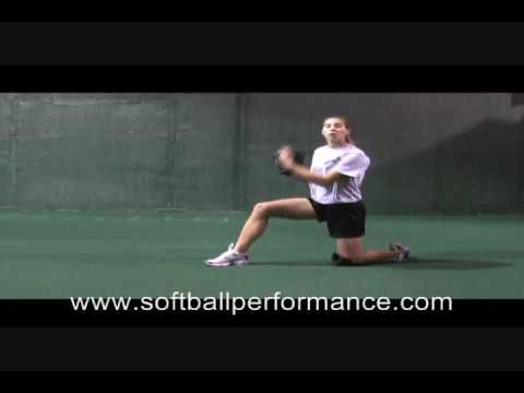 Softball Pitching Drills - The One-Knee Drill