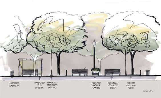 Landscape Architecture Section Drawings landscape architecture section - google search | garden design