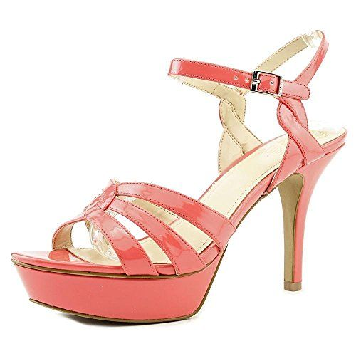 Vince Camuto Princey Women Synthetic Platform Sandal
