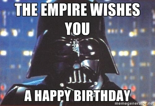 Pin By Selina Kyle On Awesome Gadgets Star Wars Happy Birthday Birthday Star Happy Birthday