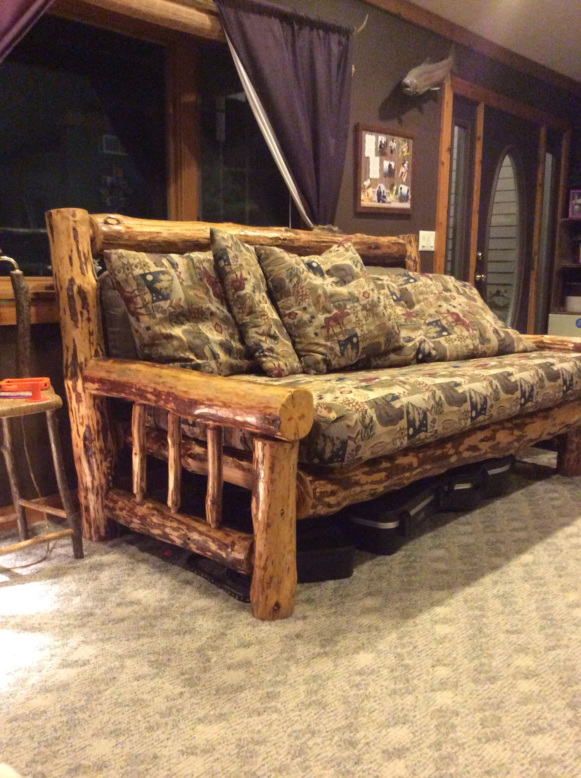 Big Comfy Couch Our Handmade Furniture In 2019 Rustic
