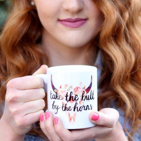 Take The Bull By The Horns Mug