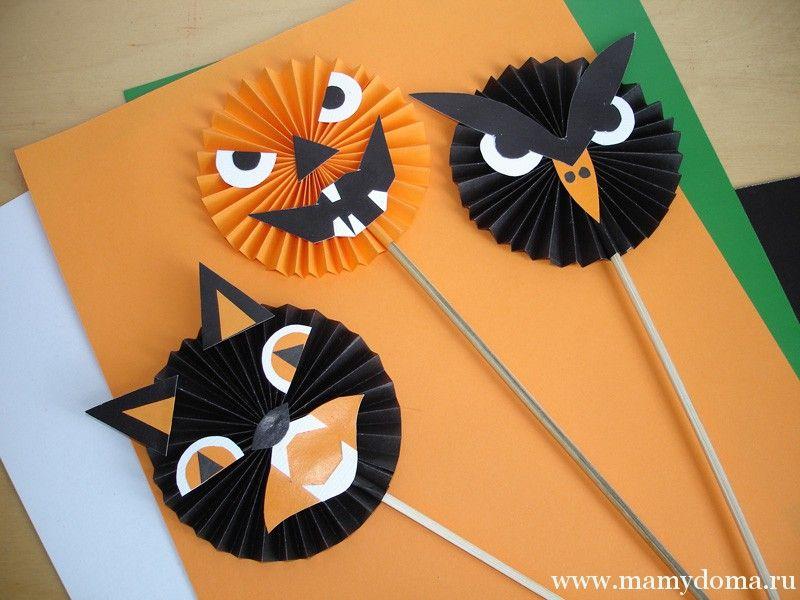Поделки на хэллоуин хеллоуин Pinterest Happy halloween - homemade halloween decorations for kids