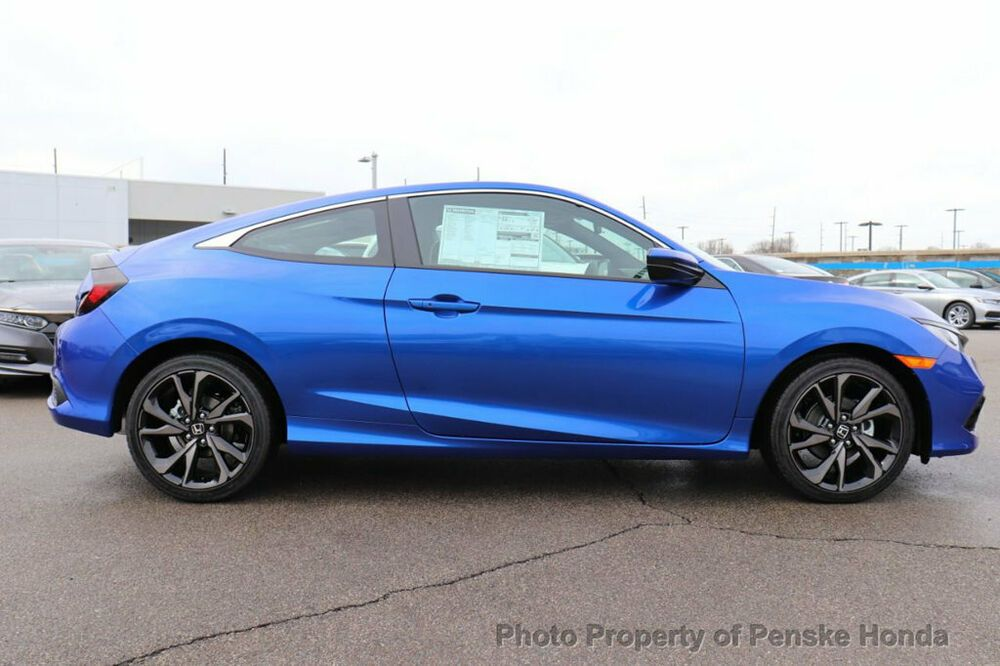 2019 Honda Civic Coupe Sport Cvt Port Cvt New 2 Dr Coupe
