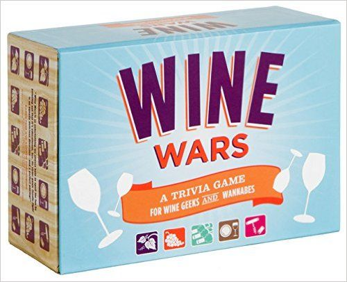 Wine Wars: A Trivia Game for Wine Geeks and Wannabes: Joyce Lock: 9780811868341: Amazon.com: Books