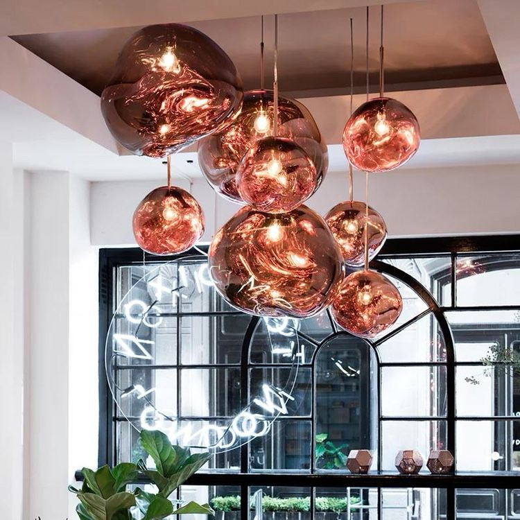 Tom Dixon Melt Mini Pendant Lamp Specification A Collaboration Between Leading British Designer Tom D Tom Dixon Melt Glass Pendant Lamp Hanging Lamp Design
