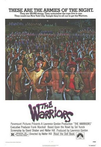 The Warriors Movie Poster.