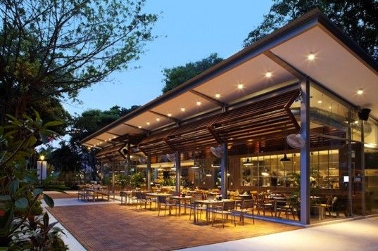 Café Melba is a Rustic Eatery Shaded by Ancient Angsana ...
