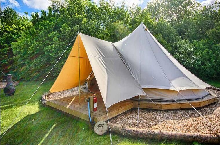 Cheap Canvas Bell Tent Buy Quality Bell Tent Directly From China Bell Tent 5m Suppliers Dancehl 4m 5m Cotton Canvas Be Tent Glamping Family Tent Camping Tent