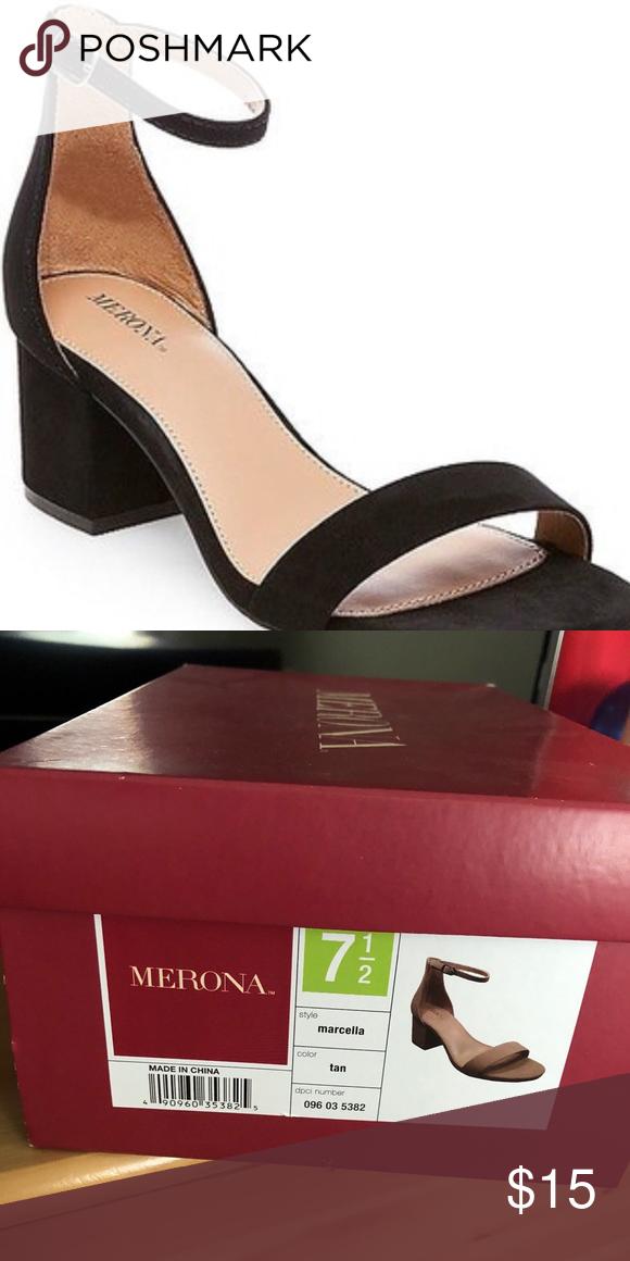 73f1d12eb7 Women's Marcella's ankle strap sandal Low block heel. Super comfortable!  Polyester, polyurethane,