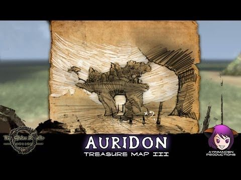 Auridon Treasure Map III | The Elder Scrolls | Treasure maps, Map ...