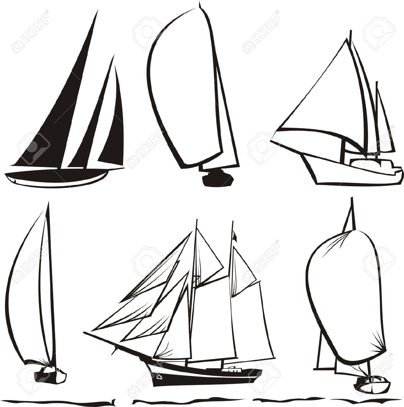Line Drawing Yacht : Sailboat line drawing google search art