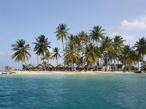 kuna yala. thats the whole island u see there:)