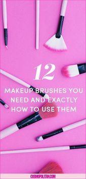 Photo of #Brushe #Brushes #Cosmopolitancom #EyeMa #Makeup 12 Makeup Brushes You Need and …