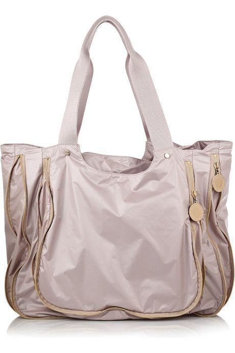 STELLA MCCARTNEY   Technical taffeta tote   Bag Snob   Pinterest ... 9c242a27b9