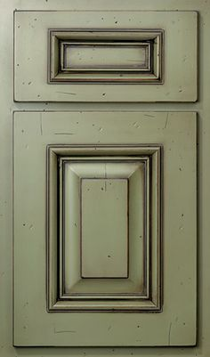 how to glaze dark sage green cabinets yahoo image search results chalk paint - Chalk Painted Kitchen Cabinets